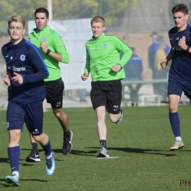 KRC Genk winter training camp - day 3