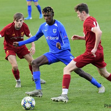 Liverpool FC vs KRC Genk - UEFA  Youth League