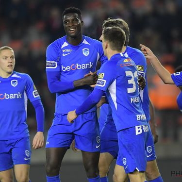 Royal Excel Mouscron v KRC Genk : Jupiler Pro League