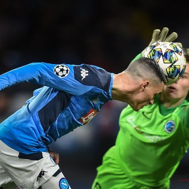 FOOTBALL : SSC Naples vs Genk - Ligue des Champions - 10/12/2019