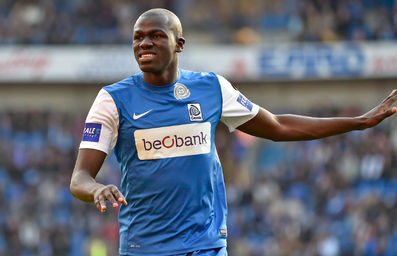 Kalidou Koulibaly is back in KRC Genk (briefly).