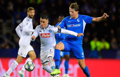 Sander Berge looks back at KRC Genk - SSC Napoli.